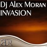 DJ ALEX MORAN - Invasion (Front Cover)