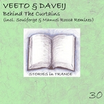 VEETO & DAVEIJ - Behind The Curtains (Front Cover)