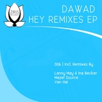 DAWAD - Hey (remixes EP) (Front Cover)