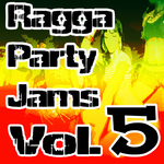 VARIOUS - Ragga Party Jams Vol 5 (Front Cover)