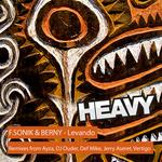 F SONIK & BERNY - Levando - Remixes (Front Cover)