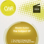 KURTYS, Maxim - The Subject (Front Cover)
