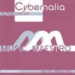 CYBERNALIA - Alpha One EP (Front Cover)
