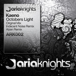 KAENO - Octobers Light (Front Cover)