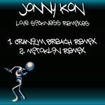 KON, Jonny - Love Sickness (remixes) (Front Cover)