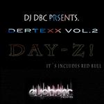 DJ DBC presents DERTEXX - Day Z Vol 2 (Front Cover)