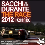 SACCHI & DURANTE - The Race (Front Cover)