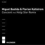 BASTIDA, Miguel & FLORIAN KALTSTROM - Concient (Front Cover)