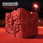 DRUMSOUND & BASSLINE SMITH feat TOM CANE - Through The Night (Front Cover)