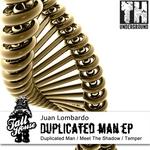 LOMBARDO, Juan - Duplicated Man EP (Front Cover)