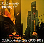 ROBJAMWEB - Holding On (Front Cover)