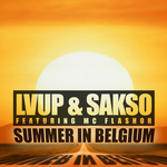 LVUP/SAKSO - Summer In Belgium (Front Cover)