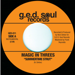 MAGIC IN THREES - Summertime Strut/Money Mark In Tha Summer (Front Cover)