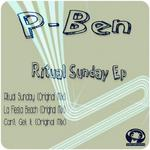 P BEN - Ritual Sunday EP (Front Cover)
