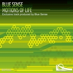 BLUE SENSE - Motions Of Life (Front Cover)
