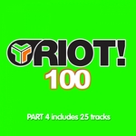 VARIOUS - Riot 100 Part 4 (Front Cover)