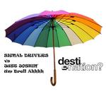 SIGNAL DRIVERS/JUST JOSHIN' - Um Brell Ahhhhh (Front Cover)