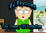 DJ PSYCLONE - The Theory Of Evolution (Front Cover)