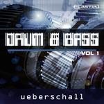 UEBERSCHALL - Drum & Bass Vol 1 (Sample Pack Elastik Soundbank) (Front Cover)