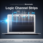MONOMADE - Logic Channel Strips (Sample Pack Logic Channel Presets) (Front Cover)
