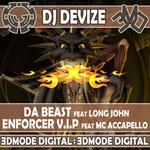DJ DEVIZE - Da Beast (Front Cover)