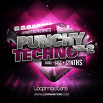 LOOPMASTERS - Punchy Techno Vol 2 (Sample Pack WAV/APPLE/LIVE/REASON) (Front Cover)