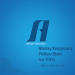 KEMPINSKIY, Nikolay/PHILLIPO BLAKE feat V RAY - Where Are You EP (remixes) (Front Cover)