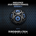 INSOLENCE feat REBEKA FRANCE - Serenity (Front Cover)