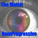 DAMPROGRESSIVE - The Match (Front Cover)