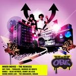 MWEN MOVES - The Remixes (Front Cover)