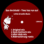 ARCHBOLD, Ben - Time Has Run Out (Front Cover)