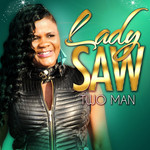 LADY SAW - Two Man EP (Front Cover)