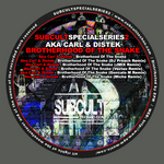 AKA CARL/DISTEK - Brotherhood Of The Snake (Front Cover)