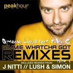 LLOYD, Graeme feat MAX C - Gimmie Whatcha Got (remixes Part 1) (Front Cover)