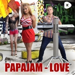 PAPAJAM - Love (Front Cover)