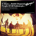 K KLASS feat BOBBI DEPASOIS - People Of All Nations (Front Cover)