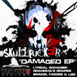SKULLFUCK3R - Damaged EP (Front Cover)