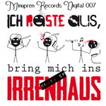 MINUPREN feat MF - Irrenhaus EP (Front Cover)