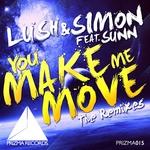 LUSH & SIMON feat SUNN - You Make Me Move (The remixes) (Front Cover)