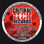 VITORIA, J/H PAUL/HIBRYD BRIAN/ALFONSO SANCHEZ - Induxtrial EP (Front Cover)