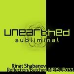 SHABANOV, Rinat - Reflection (Front Cover)