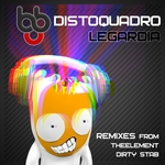 DISTOQUADRO - Legardia (remixes) (Front Cover)