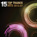VARIOUS - 15 Top Trance Hits 2012-07 (Front Cover)