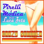 PIRELLI/MODICA feat LUCA ZETA - Crazy Summer (Front Cover)