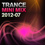 VARIOUS - Trance Mini Mix 2012-07 (unmixed tracks) (Front Cover)