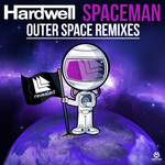 HARDWELL - Spaceman: Outer Space Remixes (Front Cover)