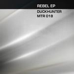 DUCKHUNTER - Rebel (Front Cover)