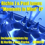 RICHIE J/PAUL JAMES - Moments In Mind EP (Front Cover)