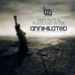DEFUNCT/FLATLAND FUNK - Annihilated (Front Cover)