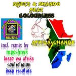 SGETZ/SHANDO feat COLOURLESS - Africa Change (Front Cover)